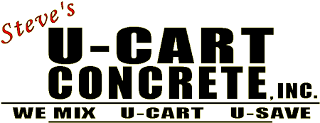 Steve's U-Cart Concrete, Inc. Logo