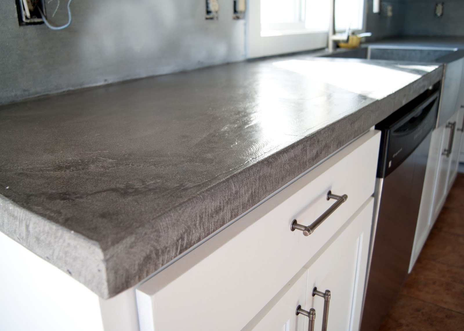 How To Build A Classy Concrete Countertop Steve S U Cart