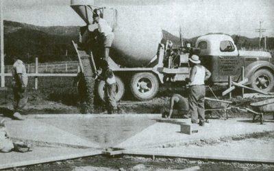 concrete history