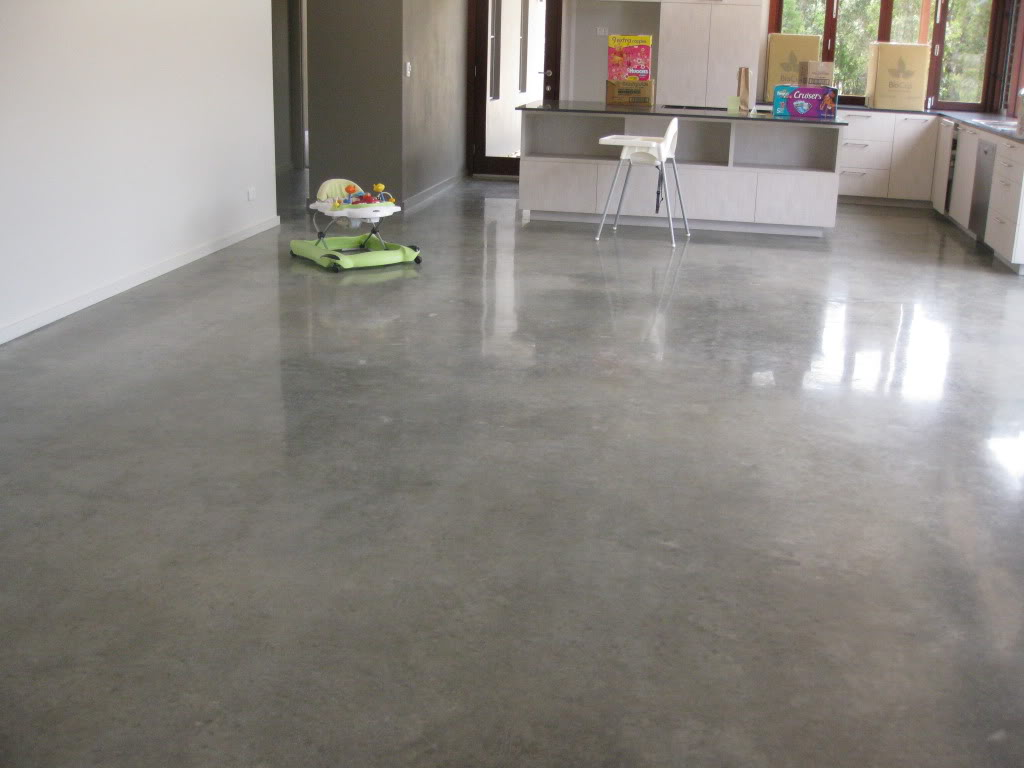 What is polished concrete steve 39 s u cart concrete inc for Stained polished concrete floor