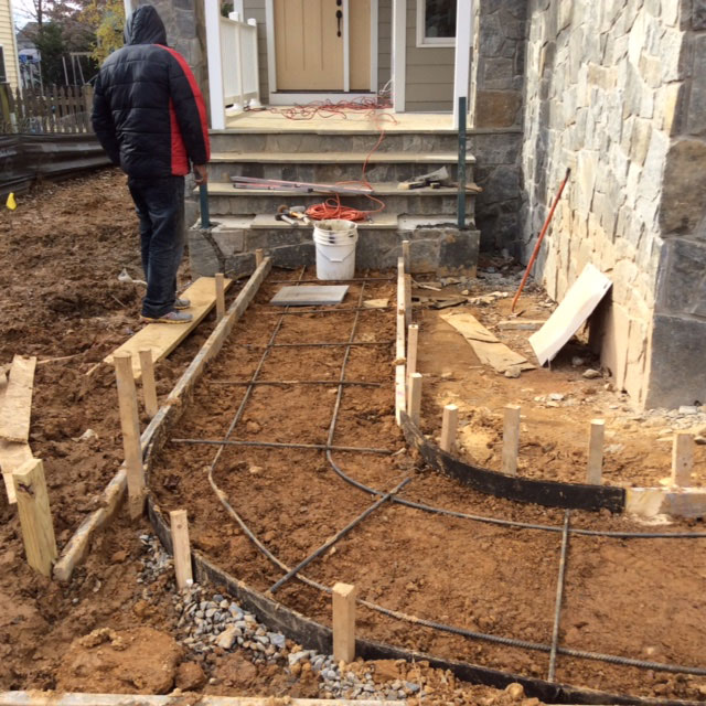 Diy tip prepping your concrete site before pouring for Pouring your own concrete driveway